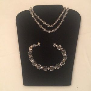 ST. JOHN  Rhinestone/Crystal Magnetic Necklace